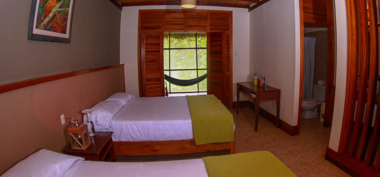 Habitación Heliconia Lodge, Iquitos - Perú